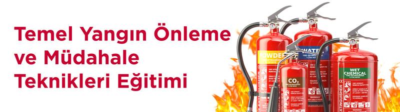 temel yangın önleme ve müdahale teknikleri eğitimi